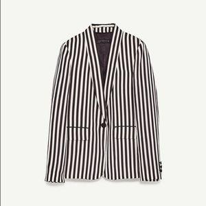 Zara Striped Women's Blazer